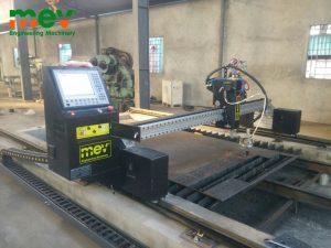 MEV lắp đặt máy cắt CNC Plasma 2060 tại Nghi Phú – Tp Vinh.