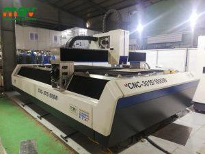 Lắp đặt và bàn giao máy cắt CNC Fiber Laser Tại KCN Từ Liêm