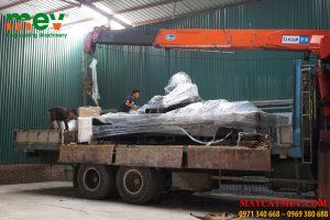Máy cắt CNC Laser fiber về kho xưởng MEV với nguồn cắt Laser 2000w