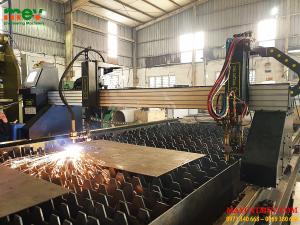 Lắp đặt Máy CNC plasma 3000SE và nguồn E130 tại Công ty Cổ Phần Thương Mại Tổng Hợp Việt An.