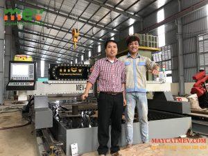 Lắp đặt Máy cắt plasma CNC cấu hình khủng 3000pro, E200wms tại Tuyên Quang