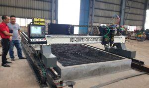 Máy cắt CNC plasma cấu hình khủng 3000pro 2 tool lắp đặt tại Hải Phòng