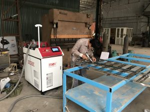 Bàn giao máy hàn laser fiber MEV 1000W tại Quảng Ninh