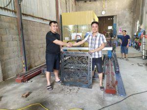 Lắp đặt máy cnc plasma 2060pro tại Mộc Châu, Sơn La