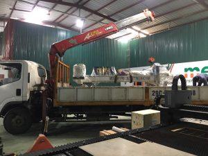 Khai xuân tất bật với 6 đơn hàng lắp máy tại các tỉnh