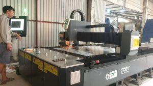 Bàn giao máy cắt laser fiber 1000W tại Đông Anh, Hà Nội