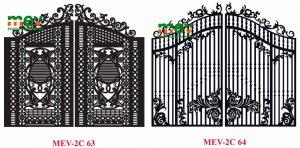 cổng 2 cánh cnc